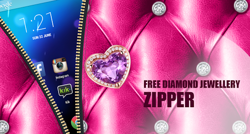 Free Diamond Jewellery Zipper