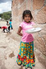 Photo: bringing dish to wash