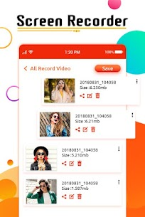 HD Screen recorder –  Game, Video Call Recording Apk  Download For Android 3