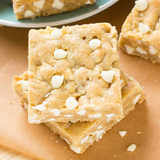 White Chocolate Blondies.