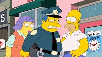 Homer Scissorhands