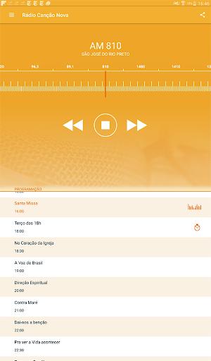 Rádio Canção Nova 3.5.1 screenshots 9