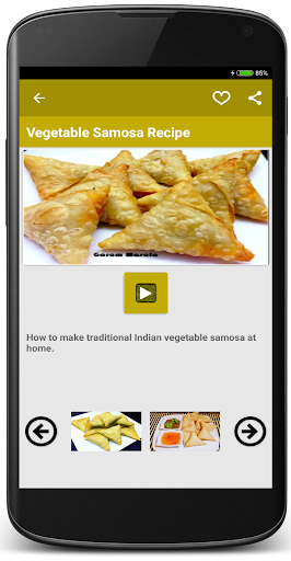 Samosa Recipe Videos 2018 screenshot