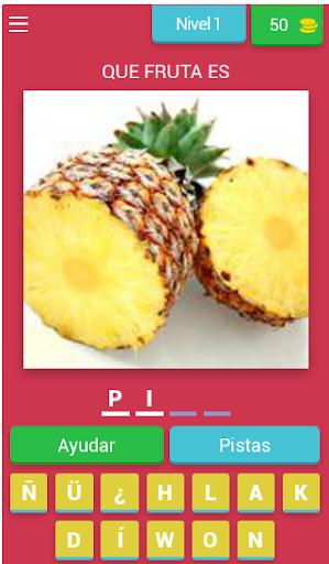 Quiz de Frutas - Adivina Que Fruta es apkdebit screenshots 1