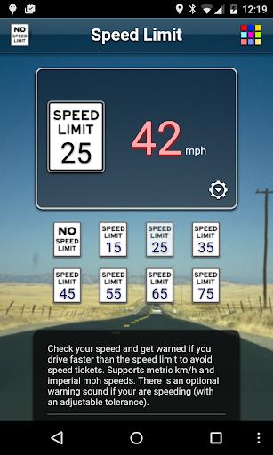Speed Limit Free screenshot 5