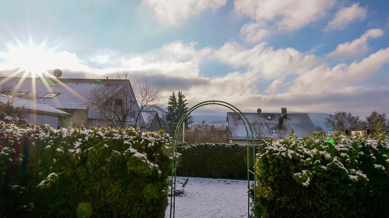 Raggi di sole sulla neve di gianni_molfetta