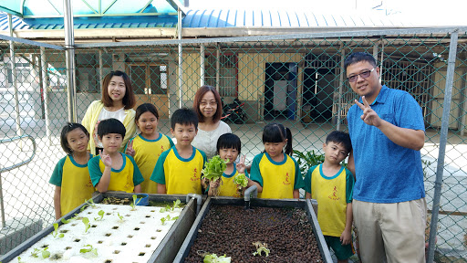 20191022大文魚菜共生園(一二年級栽種)