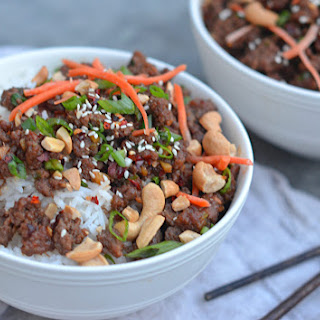 30-Minute Asian Beef Bowls.