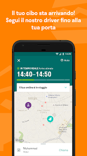 Deliveroo - Cibo a Domicilio- miniatura screenshot