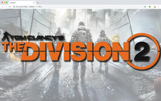 Tom Clancy Top games HD New Tabs Themes