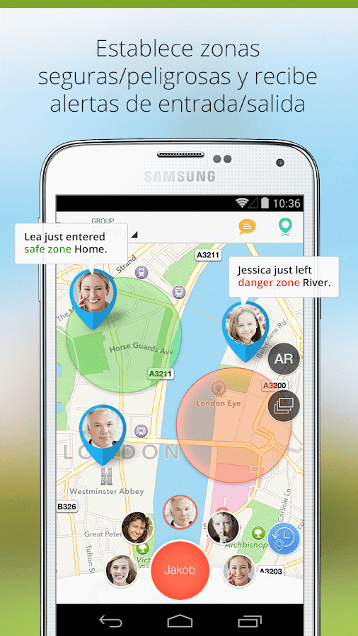 Family Locator - Phone Tracker: captura de pantalla