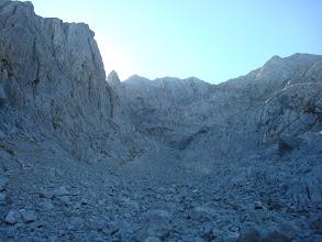 Photo: Se me ve a lo lejos en las rampas de pedreras interminables