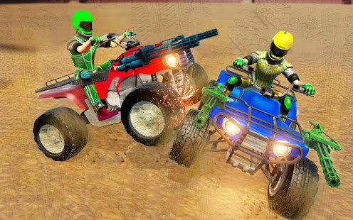 Download Monster ATV Bike Demolition Derby For PC Windows and Mac apk screenshot 3