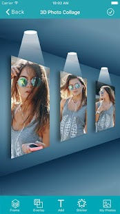 3D Photo Collage Maker - 3D Photo Frame Editor - náhled