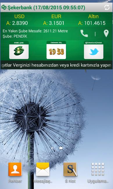 ŞEKER MOBİL ŞUBE- screenshot