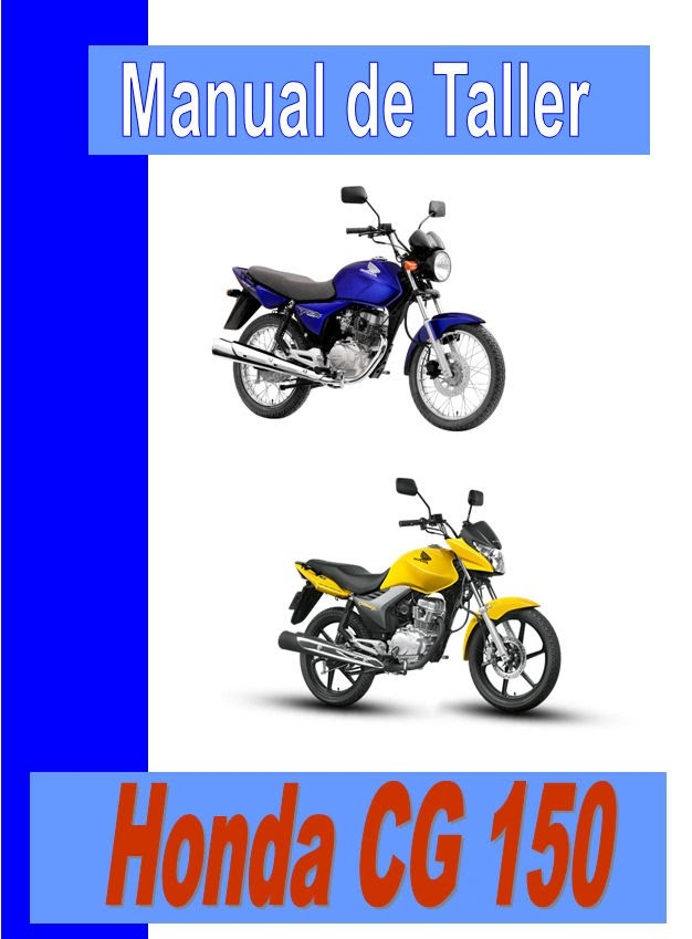 Honda CG 150 Titan -manual-taller-mecanica-despiece