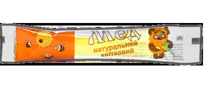 Купить мед в стиках в Украине. Фасовка меда в стики.