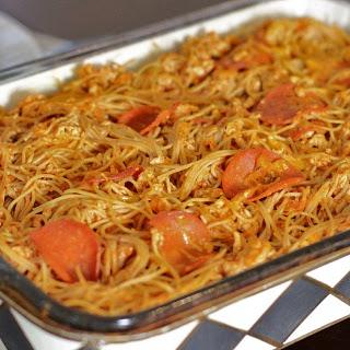Baked Spaghetti Made Healthier