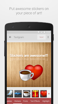 Textgram Legacy APK screenshot thumbnail 3