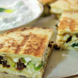 Grilled Spanakopita Sandwiches