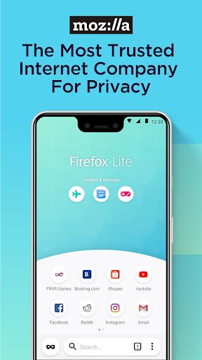 Firefox Lite u2014 Fast and Lightweight Web Browser 2.5.1(20460) screenshots 8