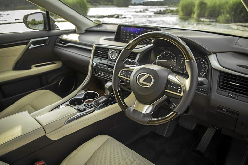 The dash and equipment design reflect the typical Lexus luxury and themes.   Picture: MOTORPRESS