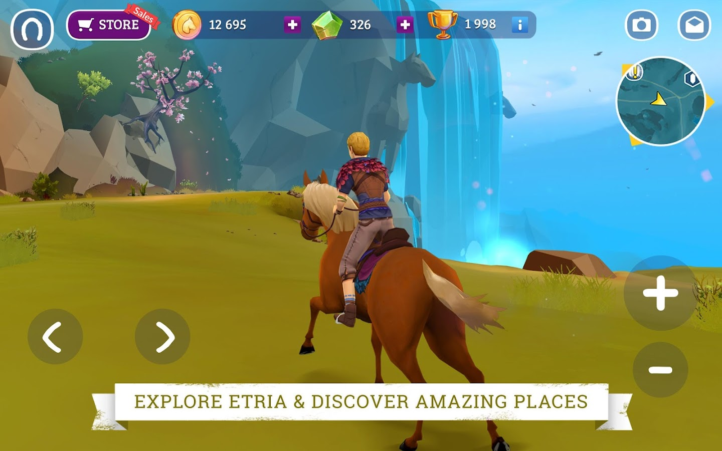 Horse Adventure: Tale of Etria- screenshot