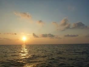 Photo: 日も沈んで・・・。