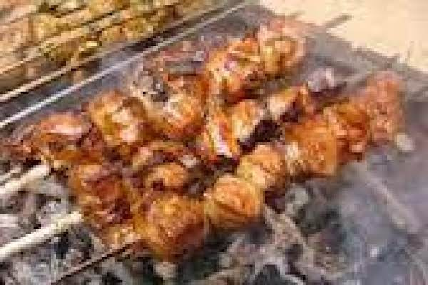 Chicken Liver And Bacon Skewers