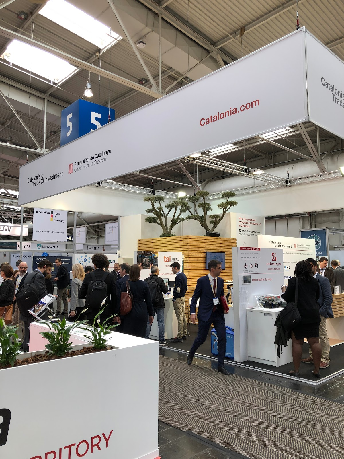 Stand de Catalunya Hannover Messe 2019