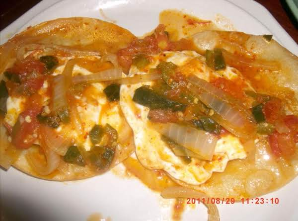 Mexican Huevos Rancheros ___bebita's Way! Recipe
