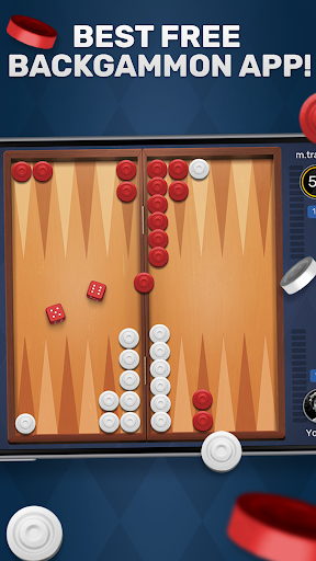 Free Backgammon Go: Best online dice & board games 2.9.1 gameplay | by HackJr.Pw 5