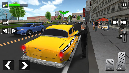 City Taxi Driving: Fun 3D Car Driver Simulator 1.2 screenshots 3