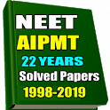 22 Years NEET/AIPMT Solved Papers 1998-2019 icon