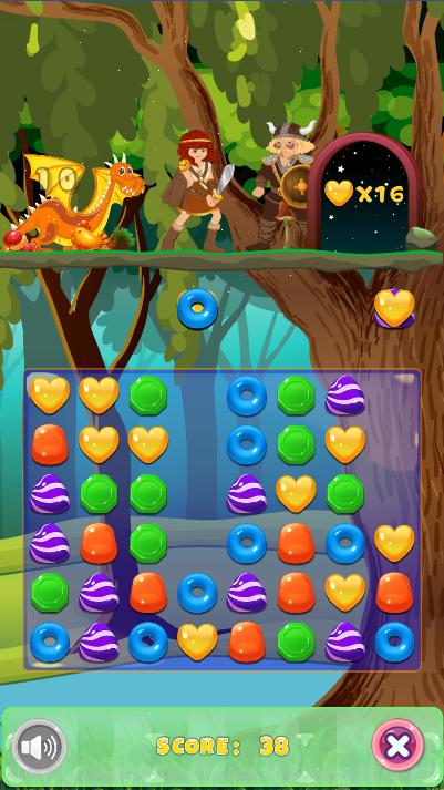Скриншот Candy Dragon Blast