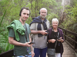 Photo: About to do some  audio-guided spelunking with Uncle Keith and Aunt Sue