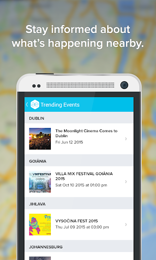All Events in City Screenshot