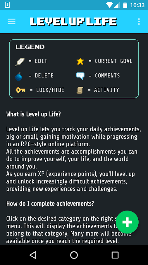 Level Up Life- screenshot