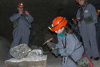 Photo: Na górniczej trasie - własnoręczne soli kopanie