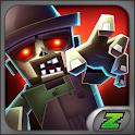 Zombie pixel farm survival icon
