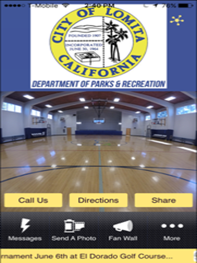 Lomita Parks and Recreation- screenshot
