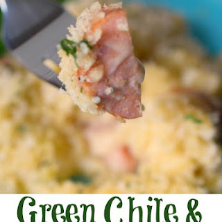Green Chile & Smoked Sausage Macaroni and Cheese.