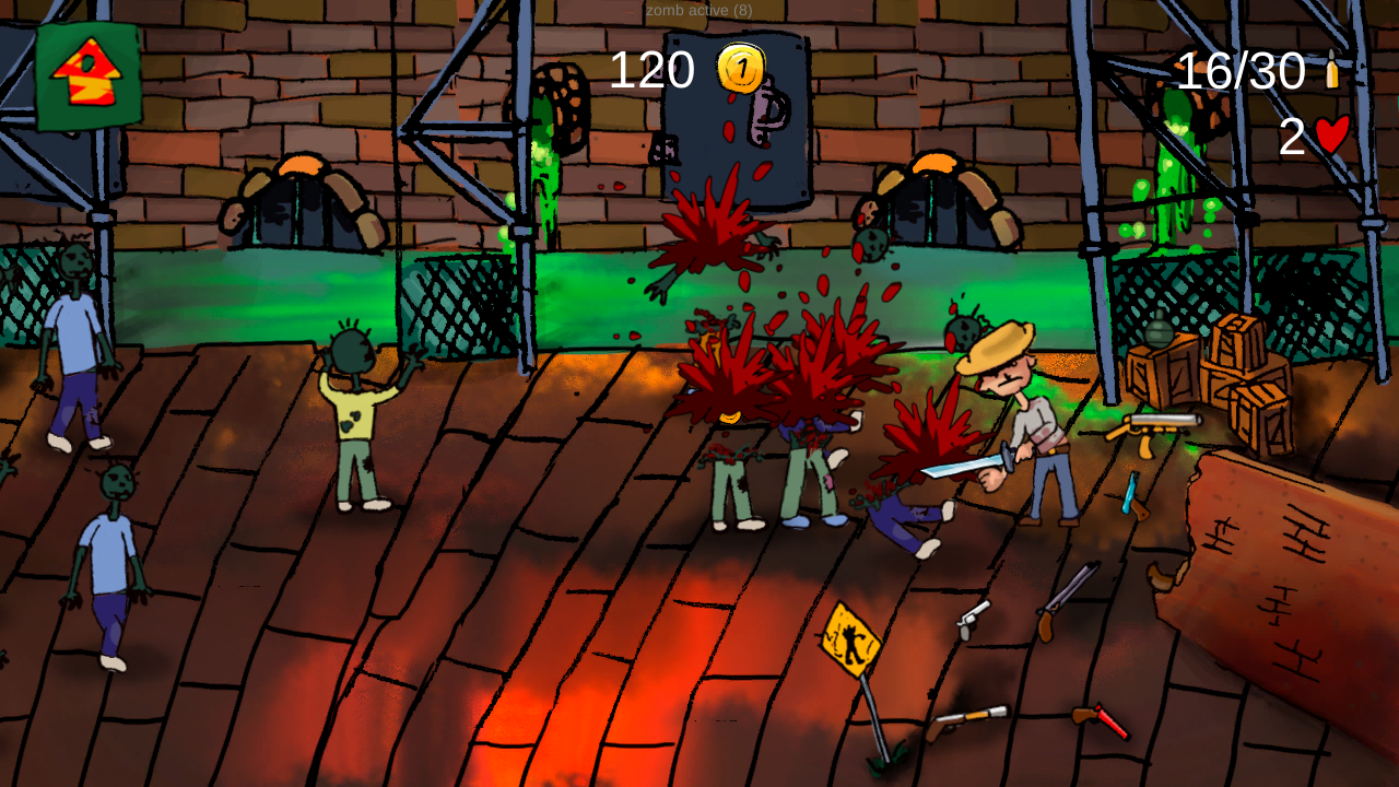 Zomb - E- screenshot