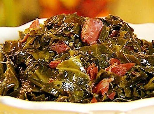 Collard Greens & Ham - Beer Braised Recipe