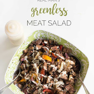 Real Man's Greenless Meat Salad.