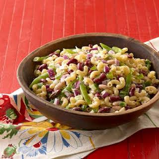 Three-Bean Macaroni Salad.