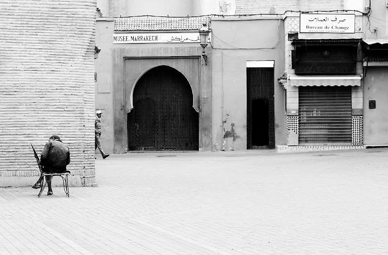 Photo: I am now planning another major trip - this time to India. Can't wait, really! So this is to put me back into the street photography state of mind. Have been going through my archive and found this image from Marrakech. I remember I quite liked it when I took it but have not processed it yet. Marrakech is normally very busy but if you're up early you might get lucky and capture a nice and quiet scene like this. Have a great weekend!  #hqsppromotion#sacredsunday #PlusPhotoExtract #potd #BreakfastClub #breakfastartclub #photography