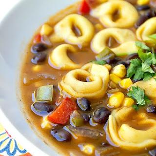 Southwest Tortellini Soup