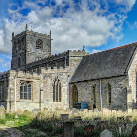 Ancient Church. by Andy Smith - Buildings & Architecture Places of Worship ( ancient, hdr, church, yorkshire, historical )