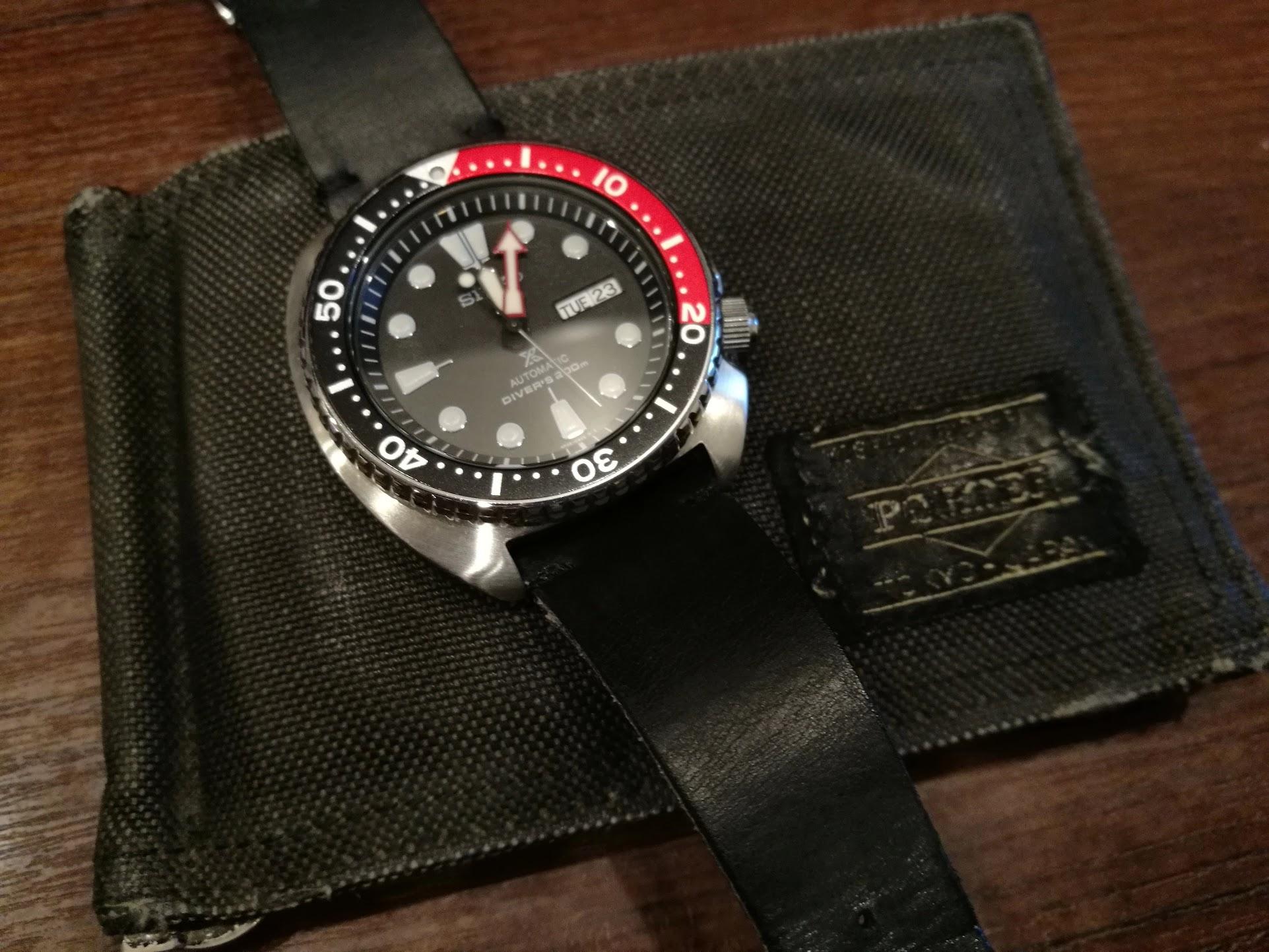 愛用の財布(ポーター)とSRP789